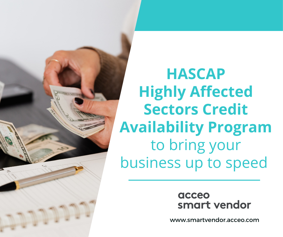 HASCAP (Highly Affected Sectors Credit Availability Program) to bring your business up to speed